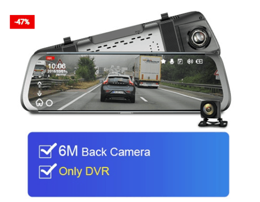Car Camera System 1080P With Wifi And GPS