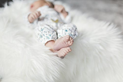 How to make adorable Baby photo shoot .